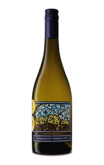 ''PANAGIOTOPOULOS'' Malagouzia BIO White Dry Wine 500ml