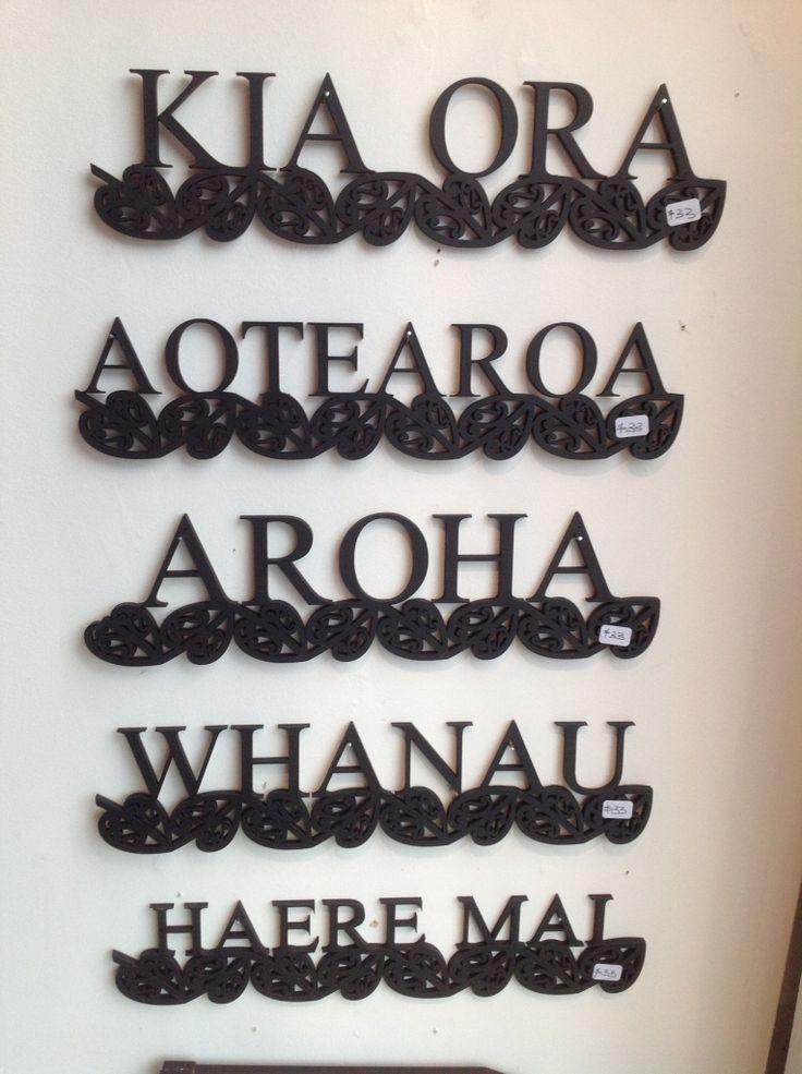 te reo wall art- whanau
