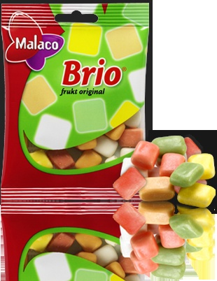Best Swedish Candy EVER!!! Malaco Brio Frukt