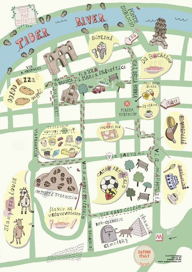 Best Rome Italymy First Trip Abroad Images On Pinterest - Rome map cartoon