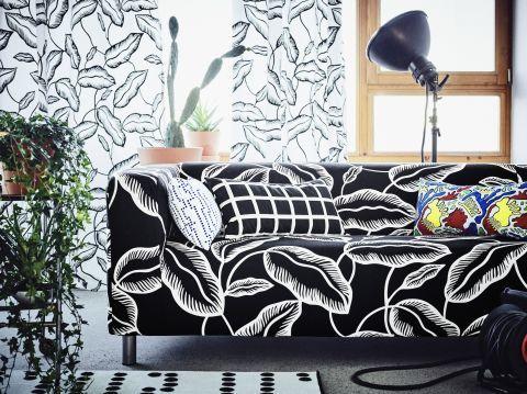 Loveseat, $269; IKEA Cushion Cover, $6, IKEA