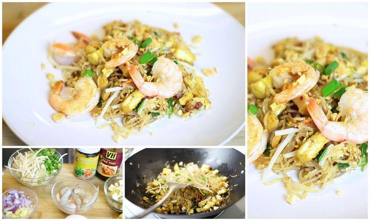 CookingwithJeNeeva: Homemade Shrimp Pad Thai