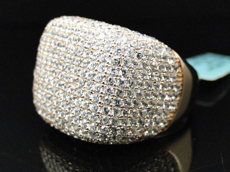 Pave Diamond Xl Fashion Rings For Cheap Mens Iced Out d XL Pave