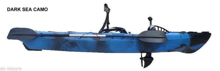 Sit On Top Kayak, NEW 'Rip Tide' Pedal Kayak From Ab Laisure DARK SEA CAMO | eBay