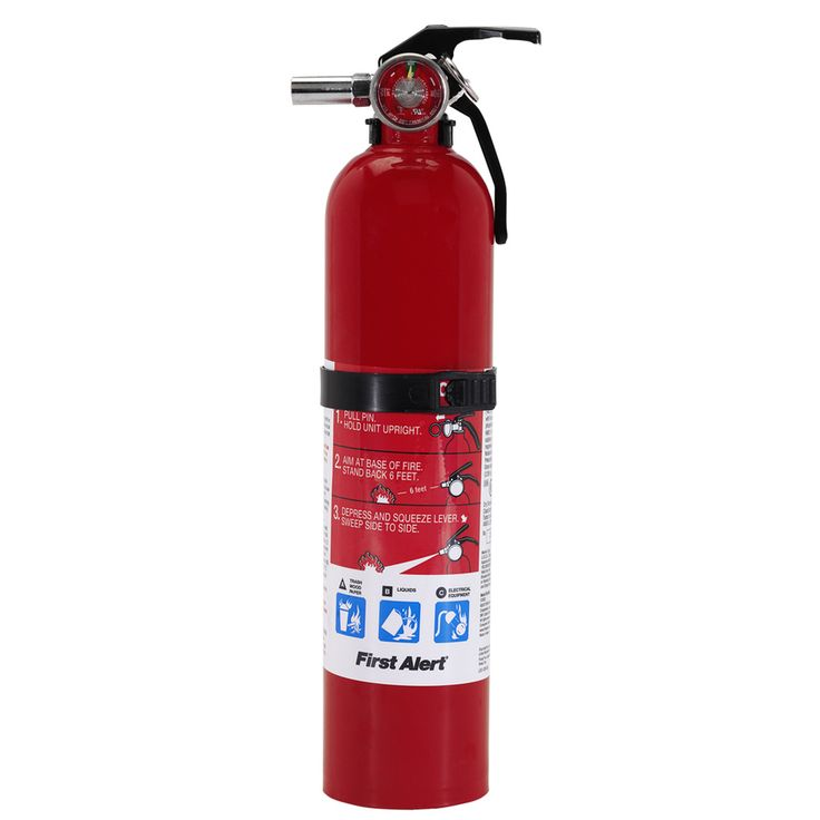 First Alert Fire Extinguisher - Rechargeable