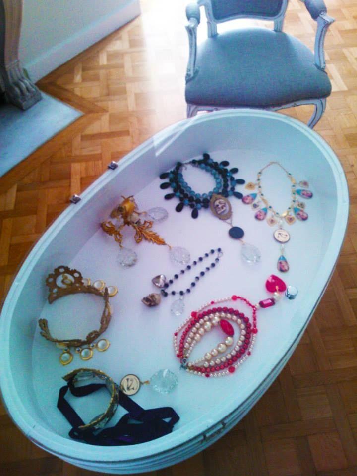 Kondylatos  wonderful x- mass jewellery at  Vassilis Zoulias  shop - Akadimias 4, Athens
