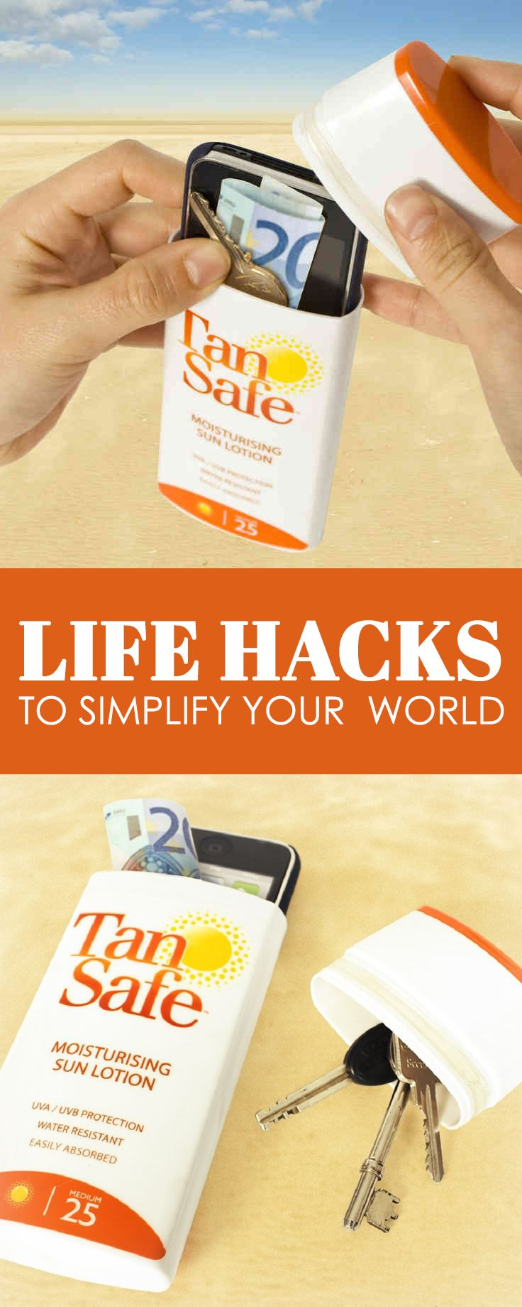 25 Simple Life Hacks That Will Forever Change Your Life Summer Life Hacks Life Hacks Simple Life Hacks