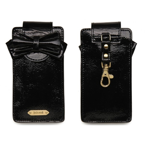 Case Design photo cell phone cases : Just Cavalli Patent Leather Cell Phone Case ($50) liked on ...