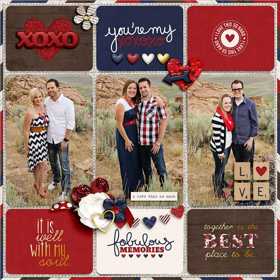 Pocket Scrapbooking Template Keeping It Real 2 by TheNellFiles