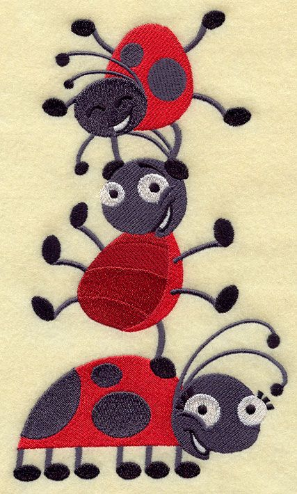 244 Best Ladybugs Galore Images On Pinterest Ladybugs Insects And