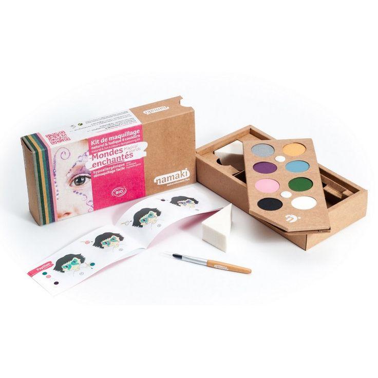 Kit Maquillage Enfant 8 couleurs Mondes enchantés