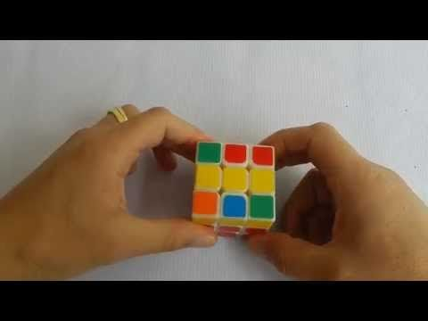 Cubo Rubik 3x3 Truco y consejo para armar la cruz amarilla mas fácil - YouTube