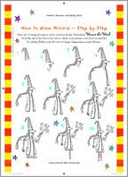 How to draw winnie act draw 1267757