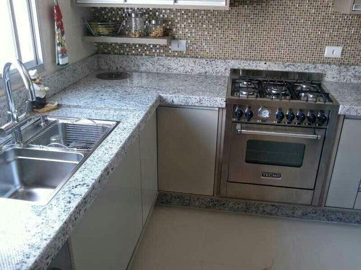 M s de 1000 im genes sobre cocina comedor y living en for Modelos de cocinas empotradas en cemento y porcelanato
