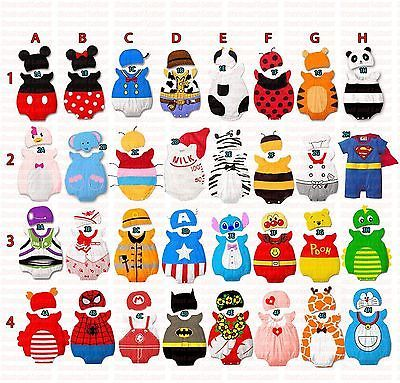 Fancy Dress Romper & Hat Costume Set - Baby Boy Girl Toddlers Infant Outfit -New