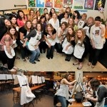 Splash Studio in Milwaukee's Third Ward - great for Bachelorette parties!! (Photos by Kate Kinser)