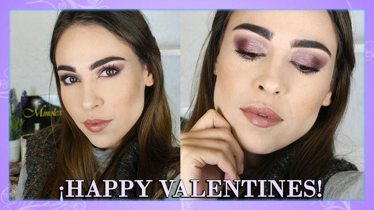Maquillaje de San Valentín con productos económicos | Maquillaje de noche