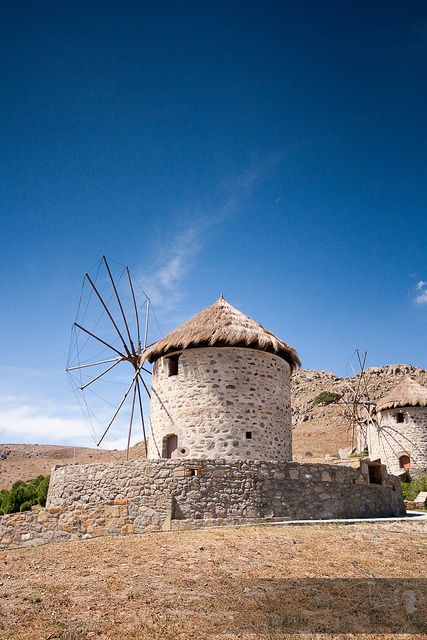 This is my Greece | Windmills on Limnos island in the northern part of the Aegean sea