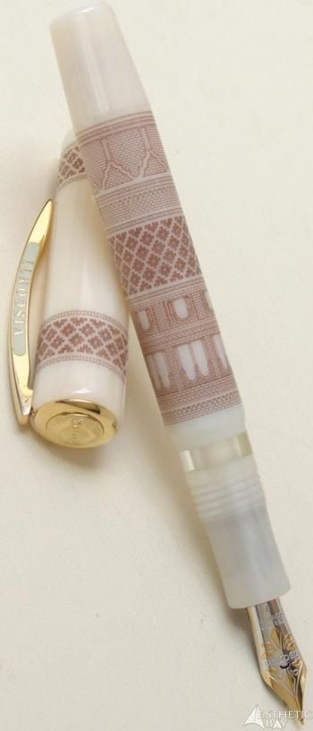 Visconti Arte Mudejar Limited Edition Fountain Pen***OMG, this would be the ultimate gift to a writer or anyone who appreciates fine pens!  I don't think the person would have to ever give me another gift!.  ABSOLUTELY DIVINE.