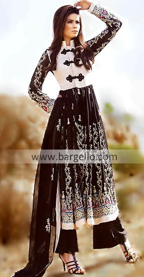 Black Fiore, Indian anarkali outfit found on Bargello. Loving it, thinking about ordering it but I'm scared!