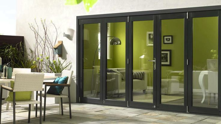 Vufold Ultra Aluminium clad and oak Bifold Door Range video