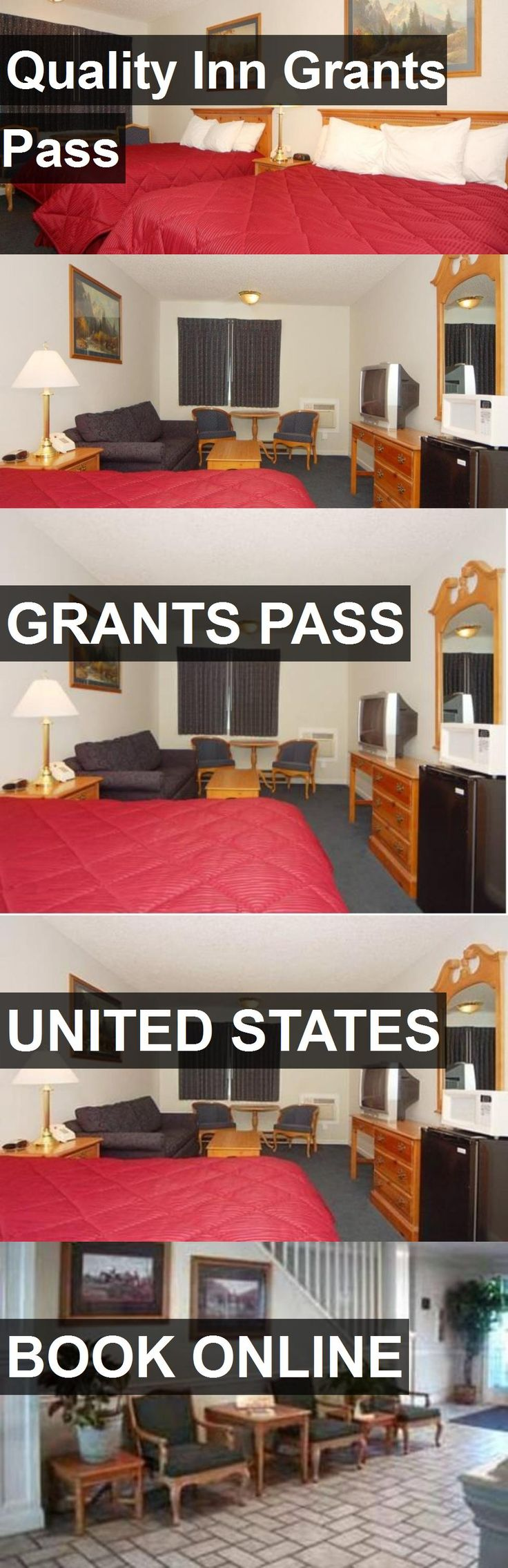 Hotel Quality Inn Grants Pass in Grants Pass, United States. For more information, photos, reviews and best prices please follow the link. #UnitedStates #GrantsPass #QualityInnGrantsPass #hotel #travel #vacation