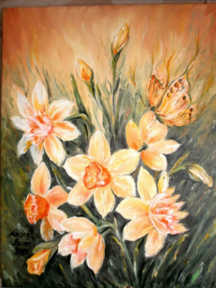 painting oil on canvas, 45cm/35cm