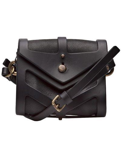 Mini bag with graphic cutouts; contemporary fashion accessories // Fleet Ilya