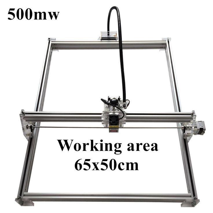 131.75$  Watch here - http://alilok.worldwells.pw/go.php?t=32768641072 - 500mW Mini desktop DIY Laser engraving engraver cutting machine Laser Etcher CNC print image of 50 X 65 cm Laser Engraver 131.75$