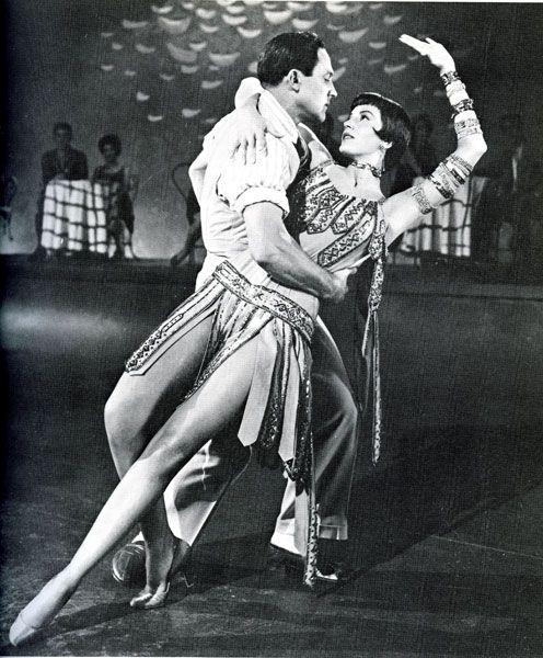 Gene Kelly and Cyd Charisse.