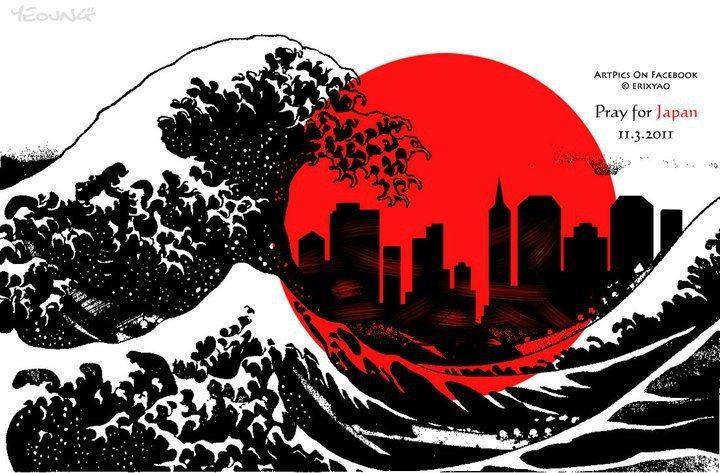 Pray for Japan http://jpdubs.hautetfort.com/archive/2012/04/20/noir-rouge-blanc.html