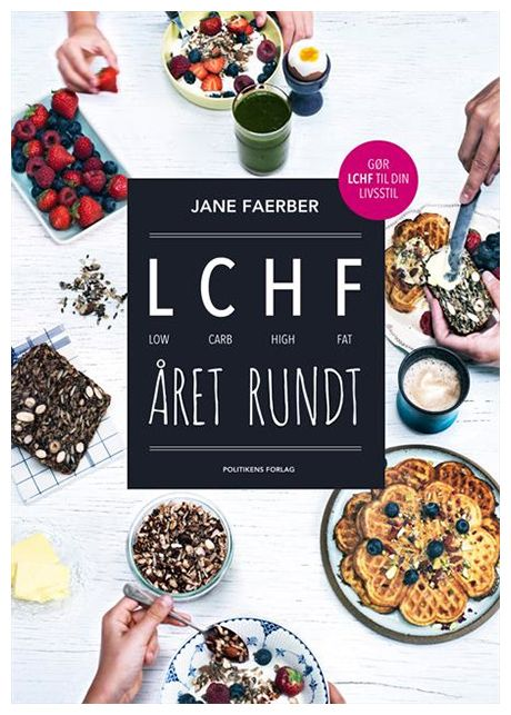 LCHF året rundt Kogebog , BarneGuiden.DK