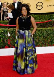 Lorraine Toussaint Print Dress