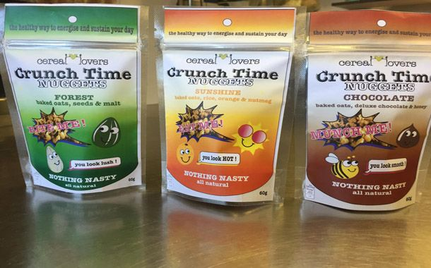 Granola brand Cereal Lovers launch new healthy snack