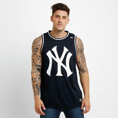 Camiseta Regata New Era New York Yankees
