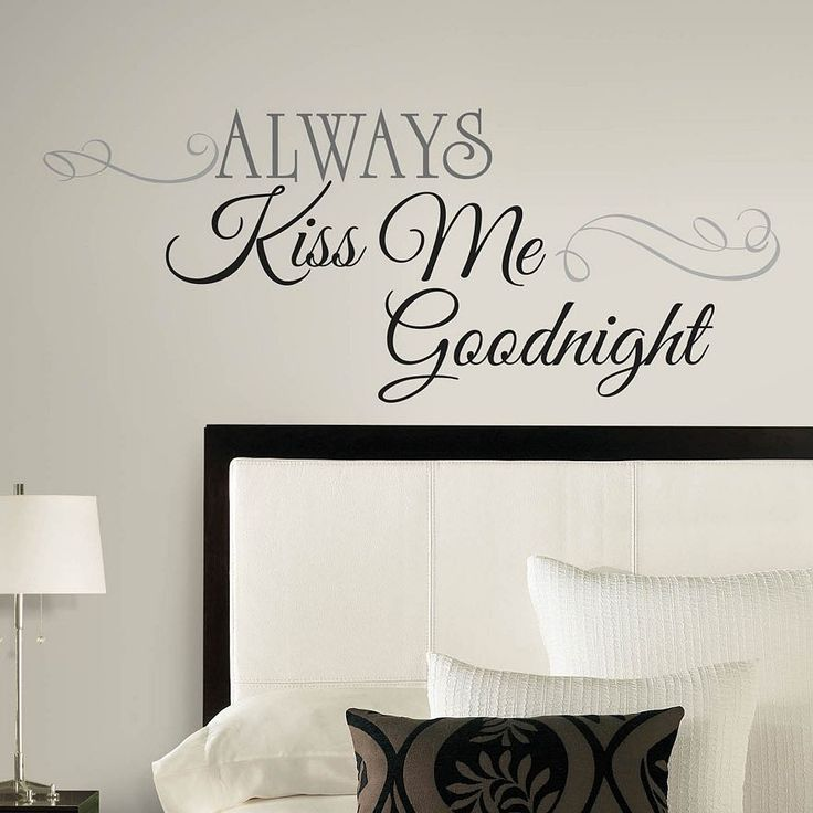 Add personal touches to your home with peel and stick decals.