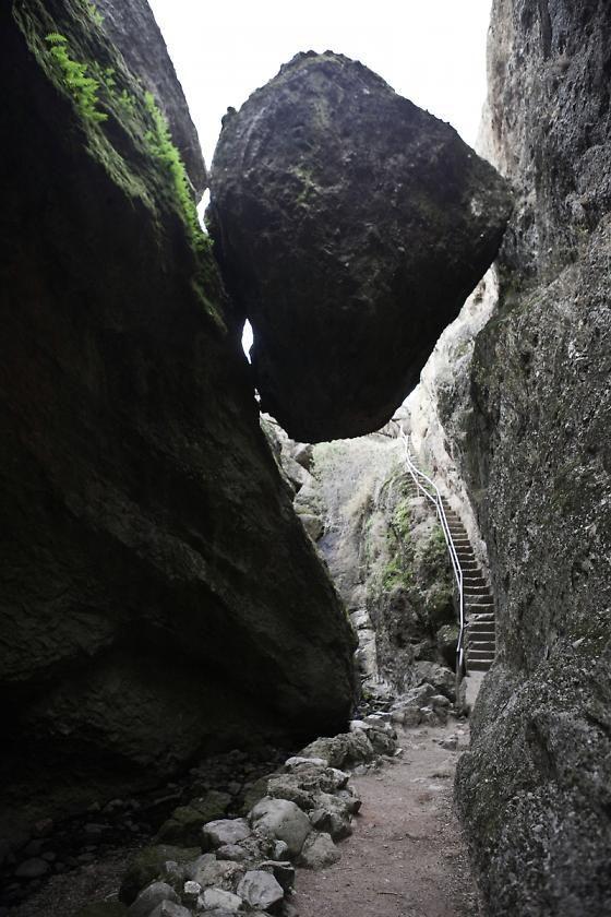 Pinnacles National Park Trail in California