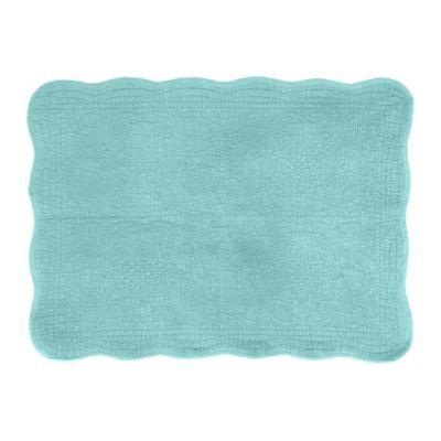 Quilted Seafoam Green Bath Mat | Kirkland's