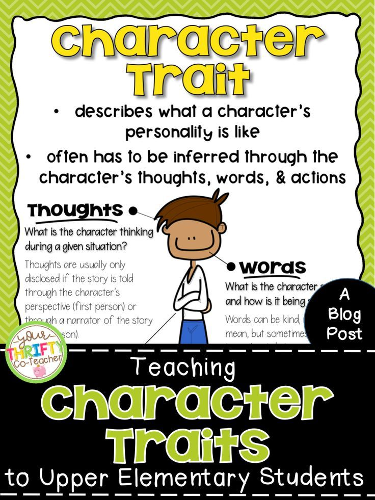 Character dissertation elementary in student