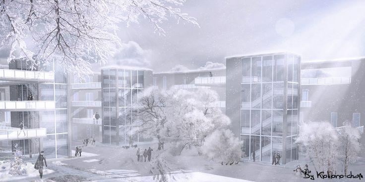 Winter by Kokoro-Architecture