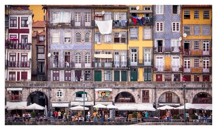 Ribeira, Porto, Portugal by fegari  ., via 500px