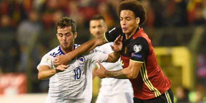 Nogometna reprezentacija Belgije savladala je selekciju Bosne i Hercegovine s 4:0 u drugom kolu grupe H kvalifikacija za nastup na svjetskom prvenstvu...