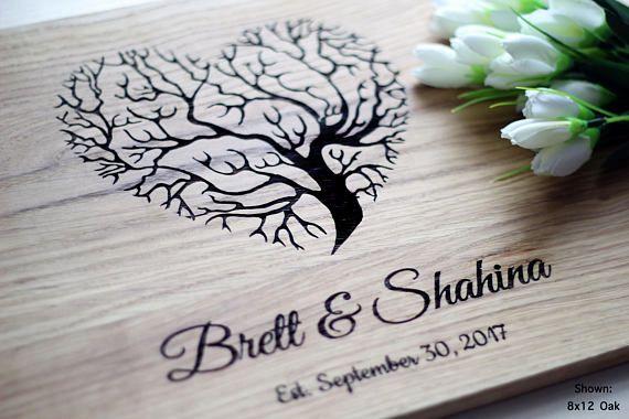 Personalized Cutting Board Wedding Gift Custom Cutting Board