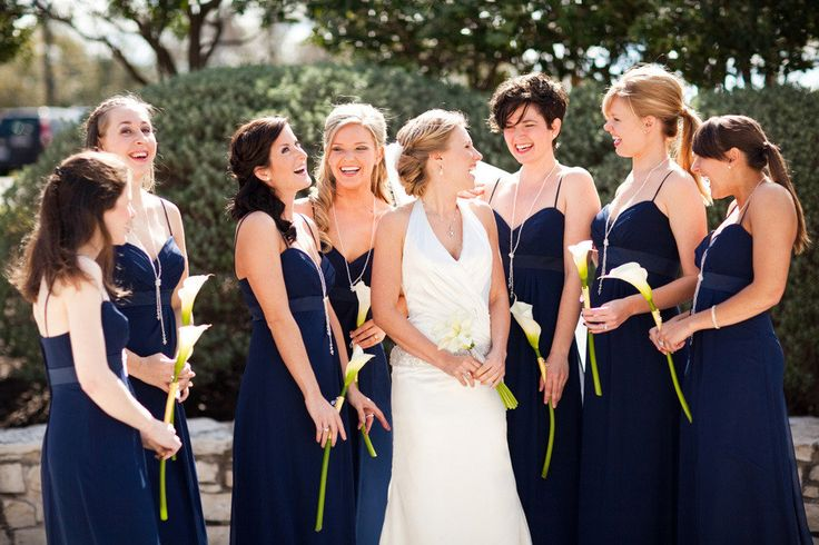 bridesmaids single calla lily