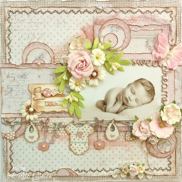 Such a Pretty Mess: NEW Page Kit & Video {The Scrapbook Diaries ... (Such a…