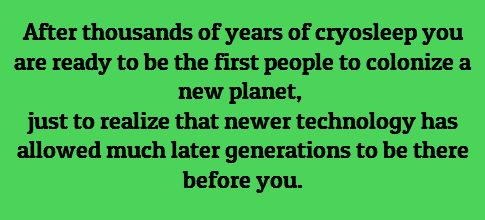 Which meant it was a really good thing for generation knew how to farm, build, and survive in harsh circumstances... because these younger guys had little idea how to do anything except the particulars of their specific jobs. And it was going to kill them all.