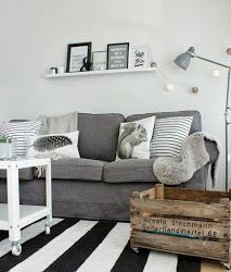 LIVINGROOM #crate #stripes #gray