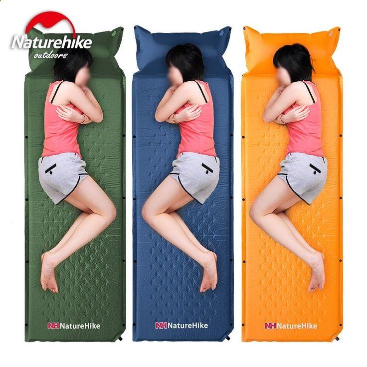 Camping Mats - (59.62$) Buy here - ai137.worlditems.... - Naturehike Inflatable Air Mattress Utralight Portable Outdoor Moistureproof Camping Mattress Camping Bed Tent Camping Mat