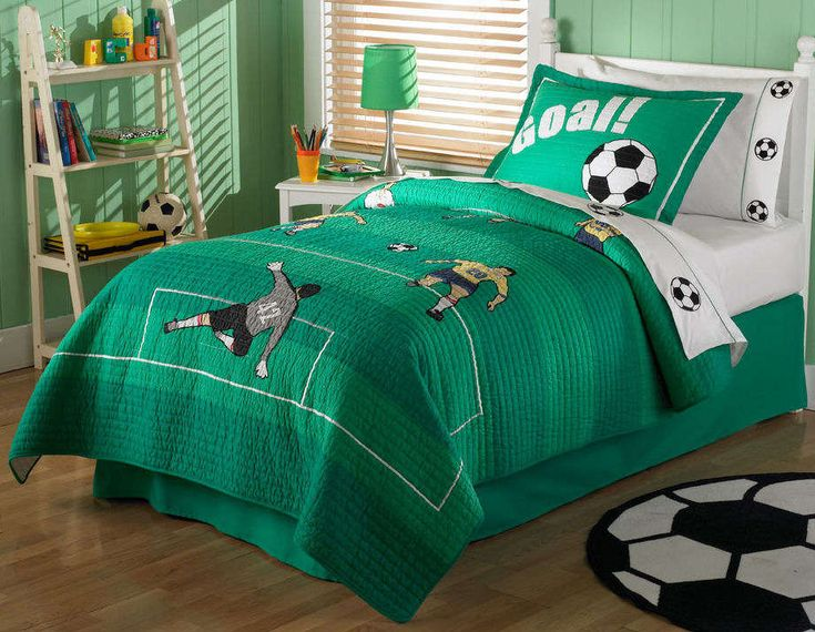 Soccer Themed Bedroom Ideas Boy Bedroom Design with soccer