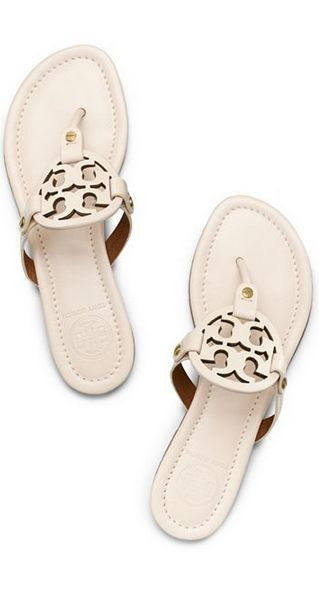 My feet will look wonderful this summer in these Tory Burch Miller sandals
